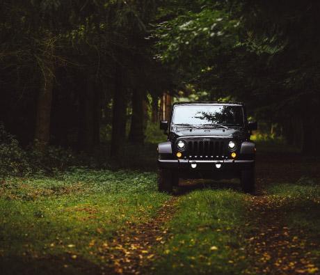 Passeio de Jeep